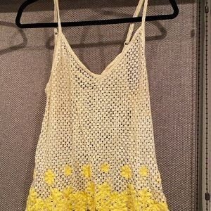 Daisy mesh shirt